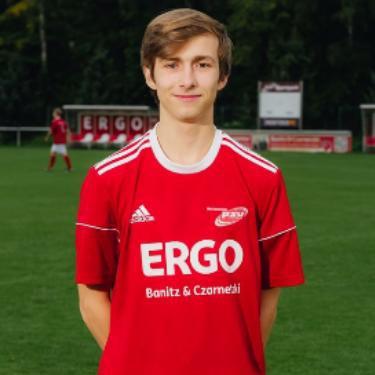 Dan Geske, Fußballspieler beim PSV Rostock A-Junioren