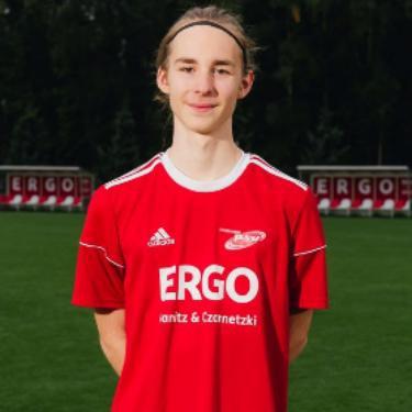 Julius Wehnert, Fußballspieler beim PSV Rostock A-Junioren