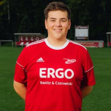 Luca Fabian Bliemeister, Fußballspieler beim PSV Rostock A-Junioren