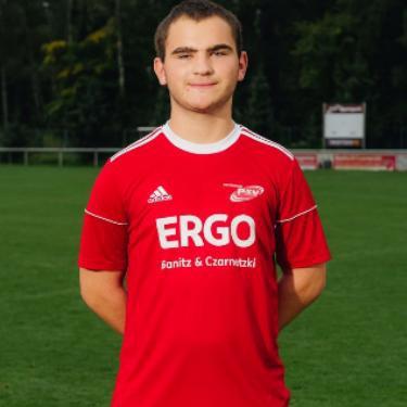 Lucas Schubert, Fußballspieler beim PSV Rostock A-Junioren