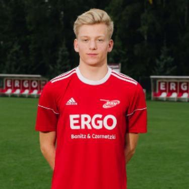 Malte Bieber, Fußballspieler beim PSV Rostock A-Junioren