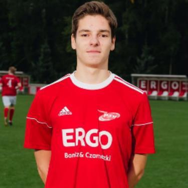 Mark Ruben Forkel, Fußballspieler beim PSV Rostock A-Junioren