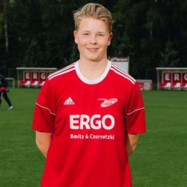 Pierre Köster, Fußballspieler beim PSV Rostock A-Junioren