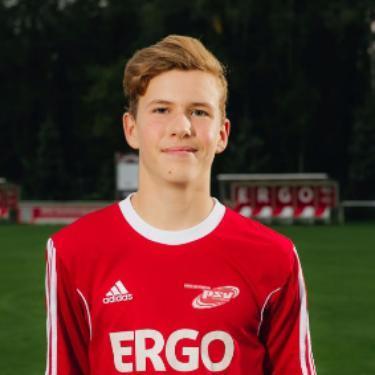 Alexander Kluß, Fußballspieler beim PSV Rostock B-Junioren