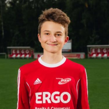Eduard Fuchs, Fußballspieler beim PSV Rostock B-Junioren