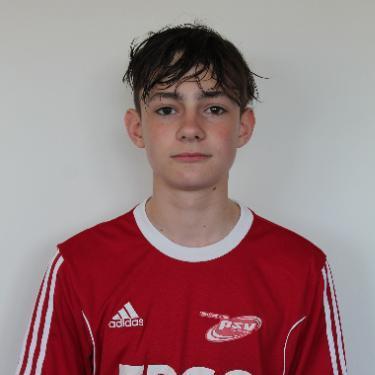Luca Kayser, Fußballspieler beim PSV Rostock B-Junioren