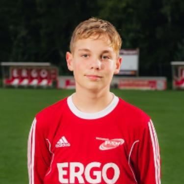 Tommy Tiede, Fußballspieler beim PSV Rostock B-Junioren