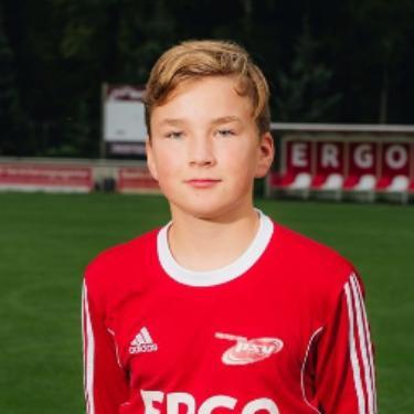 Arthur Pristrom, Fußballspieler beim PSV Rostock C-Junioren