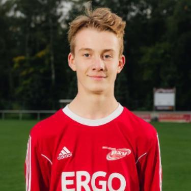 Dennis Müller, Fußballspieler beim PSV Rostock C-Junioren