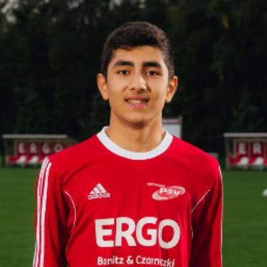 Erfan Sedighi, Fußballspieler beim PSV Rostock C-Junioren