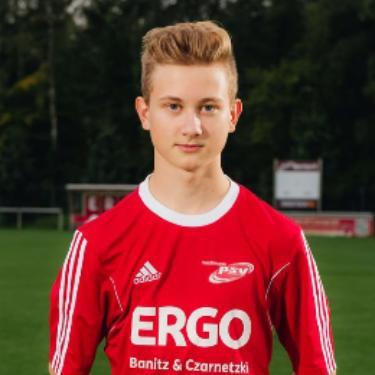 Lars Gelzer, Fußballspieler beim PSV Rostock C-Junioren