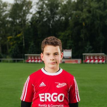 Max Patrzek, Fußballspieler beim PSV Rostock C-Junioren