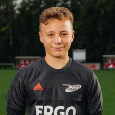 Moritz Eggert, Fußballspieler beim PSV Rostock C-Junioren