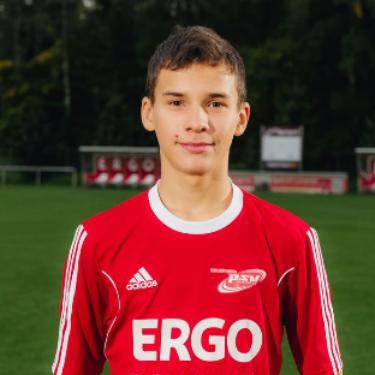 Niclas Golke, Fußballspieler beim PSV Rostock C-Junioren