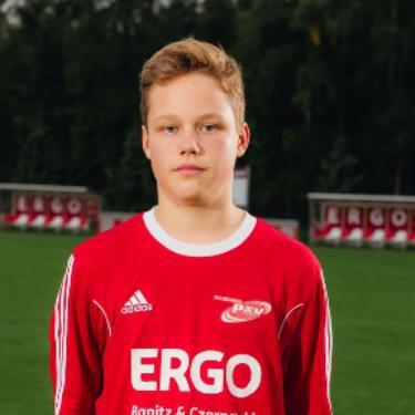 Oscar Breda, Fußballspieler beim PSV Rostock C-Junioren