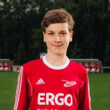 Paul Müller, Fußballspieler beim PSV Rostock C-Junioren