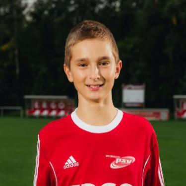 Philipp Jenzen, Fußballspieler beim PSV Rostock C-Junioren