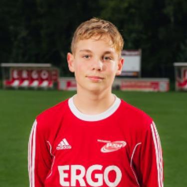 Tommy Tiede, Fußballspieler beim PSV Rostock C-Junioren
