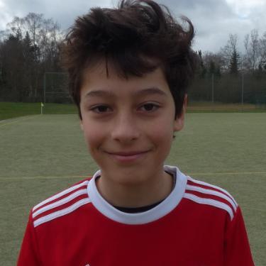 Hiwa Clement Kaiser, Fußballspieler beim PSV Rostock D-Junioren II