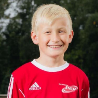 Jayden Podszus, Fußballspieler beim PSV Rostock D-Junioren II