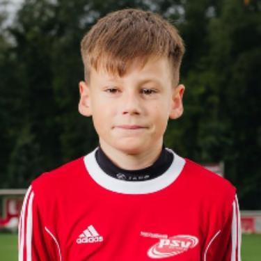 Jonas Bechert, Fußballspieler beim PSV Rostock D-Junioren II