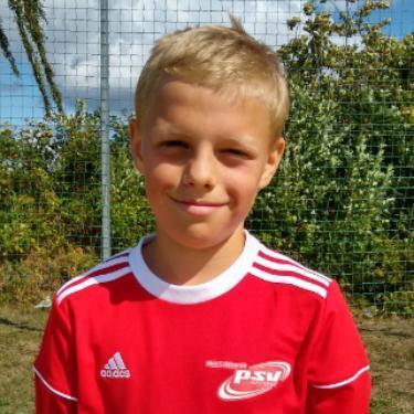 Niklas Herrmann, Fußballspieler beim PSV Rostock D-Junioren II