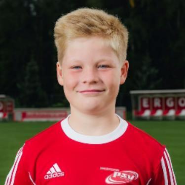 Piet Nissen, Fußballspieler beim PSV Rostock D-Junioren II