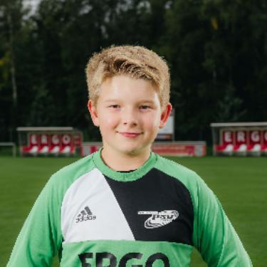 Anthony Stresing, Fußballspieler beim PSV Rostock D-Junioren