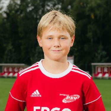 Ben Ole Hähnel, Fußballspieler beim PSV Rostock D-Junioren