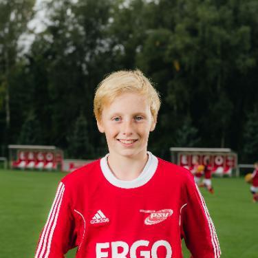Danny Voß, Fußballspieler beim PSV Rostock D-Junioren