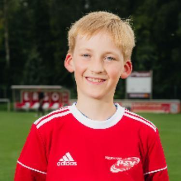 Fiete Franz Werner Otto Lampe, Fußballspieler beim PSV Rostock D-Junioren