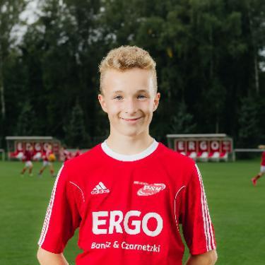 Jannik Krasemann, Fußballspieler beim PSV Rostock D-Junioren