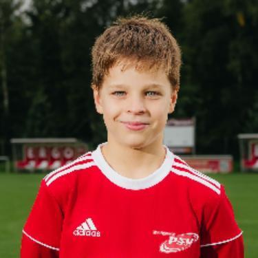 Johann Kakowski, Fußballspieler beim PSV Rostock D-Junioren