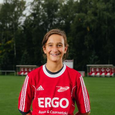 Jolina Napp, Fußballspieler beim PSV Rostock D-Junioren