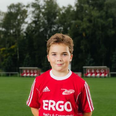 Magnus Dethloff, Fußballspieler beim PSV Rostock D-Junioren