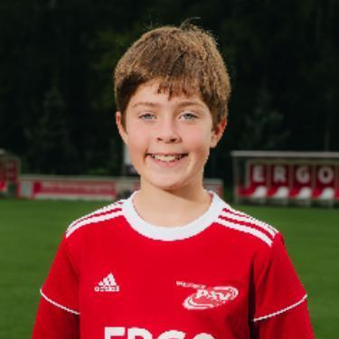 Matteo Labahn, Fußballspieler beim PSV Rostock D-Junioren