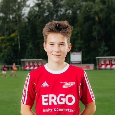 Matti Garbe, Fußballspieler beim PSV Rostock D-Junioren