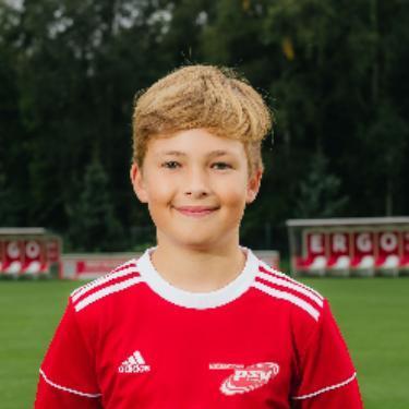 Nicolas Abel, Fußballspieler beim PSV Rostock D-Junioren
