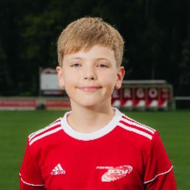 Ole Biebig, Fußballspieler beim PSV Rostock D-Junioren