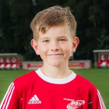 Paul Malo Schneider, Fußballspieler beim PSV Rostock D-Junioren