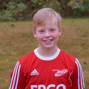 Pepe Vincenz Radziejewski, Fußballspieler beim PSV Rostock D-Junioren