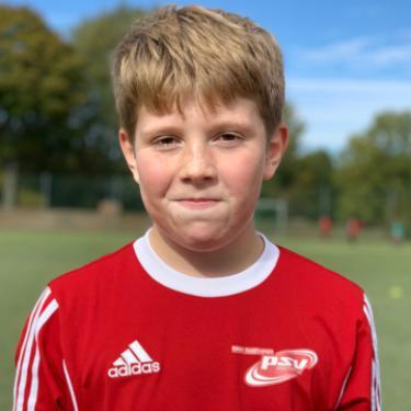 Aaron Fahß, Fußballspieler beim PSV Rostock E-Junioren I