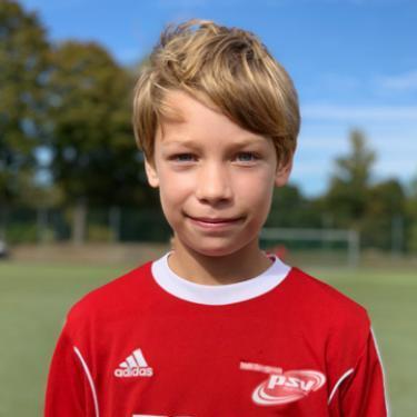 Adrian Neu, Fußballspieler beim PSV Rostock E-Junioren I