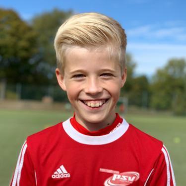 Claas Schwolow, Fußballspieler beim PSV Rostock E-Junioren I