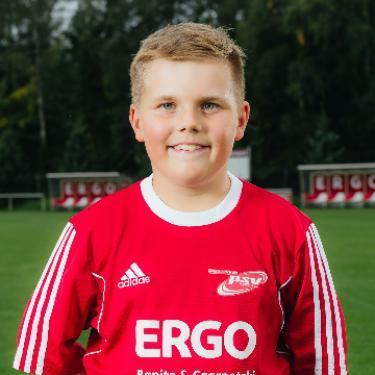 Collin Kiss, Fußballspieler beim PSV Rostock E-Junioren I