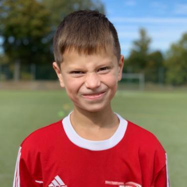Elias Kliebe, Fußballspieler beim PSV Rostock E-Junioren I
