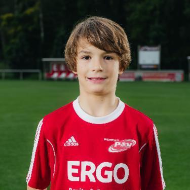 Gustav Wilhelm Mrotzek, Fußballspieler beim PSV Rostock E-Junioren I