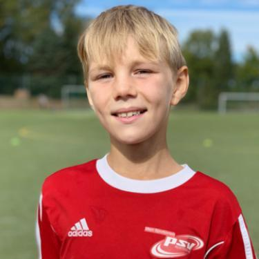 Jason Allers, Fußballspieler beim PSV Rostock E-Junioren I