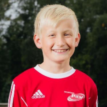 Jayden Podszus, Fußballspieler beim PSV Rostock E-Junioren I