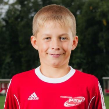 Laurence Schulz, Fußballspieler beim PSV Rostock E-Junioren I